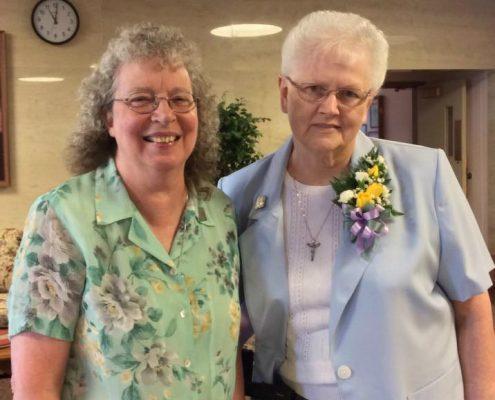 Sisters Barbara and Bernice