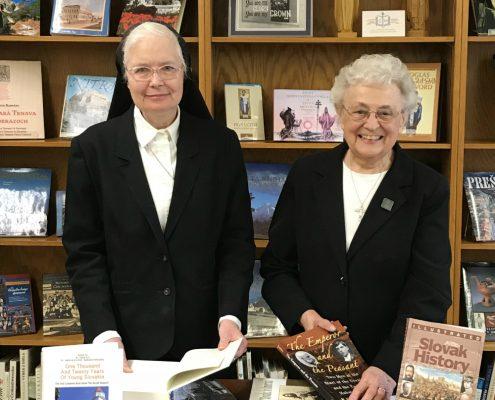 Sisters Loretta and Catherine Laboure