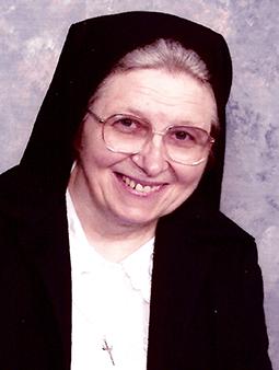 Sister Cynthia Marie Gazdo