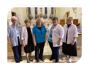 Congregational Leadership Team of the Sisters of Saints Cyril and Methodius Installation